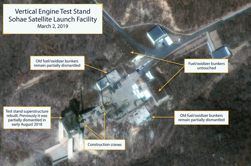 Satellite Images Show North Korea Renewed Construction Of Its Long-Range Missile Facility