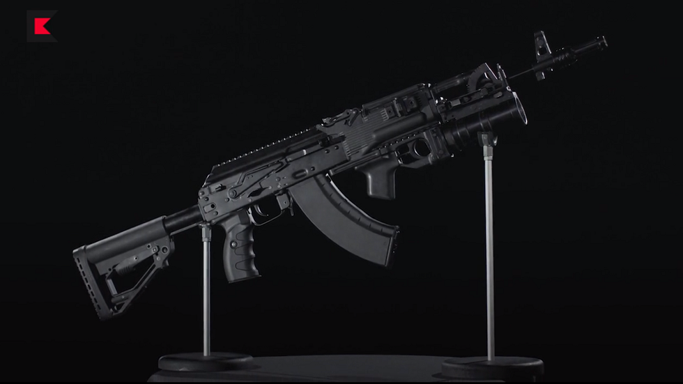 New Kalashnikov Plant In India To Produce 750,000 Modern AK-203 Assault Rifles