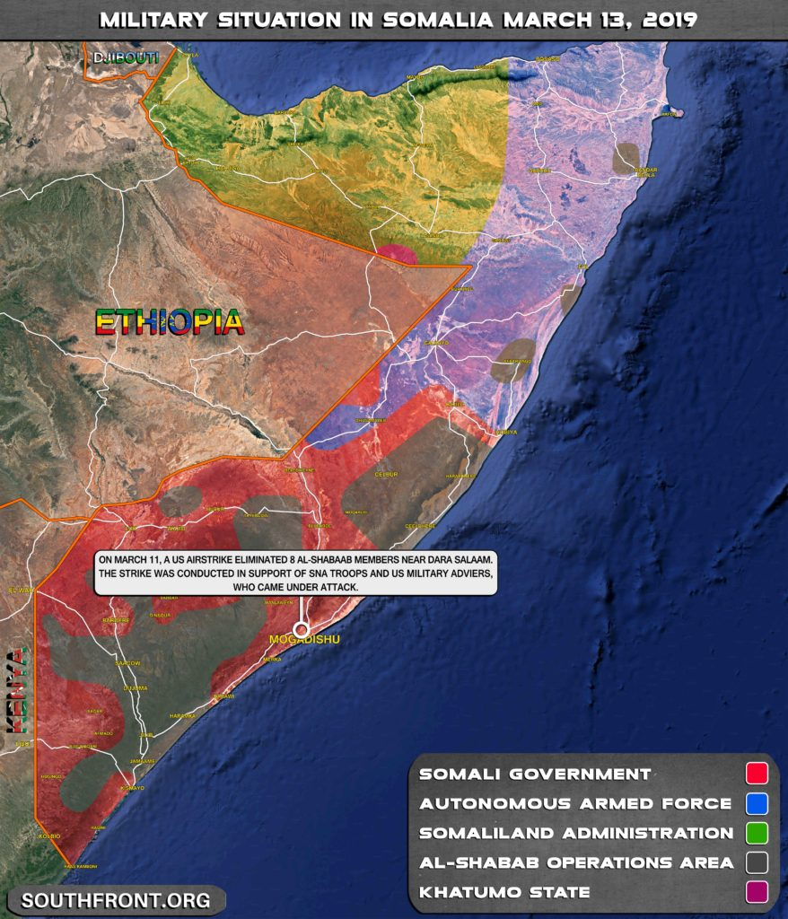 Al-Shabaab Militants Attack US Troops Positions In Somalia (Map Update)