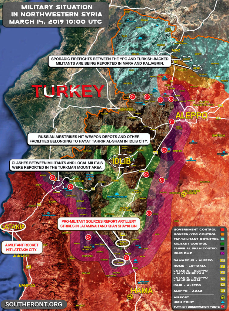 Turkish Media Hurries Up To Defend 'Moderate Rebels' After Russian Strikes On Terrorist Infrastructure In Idlib