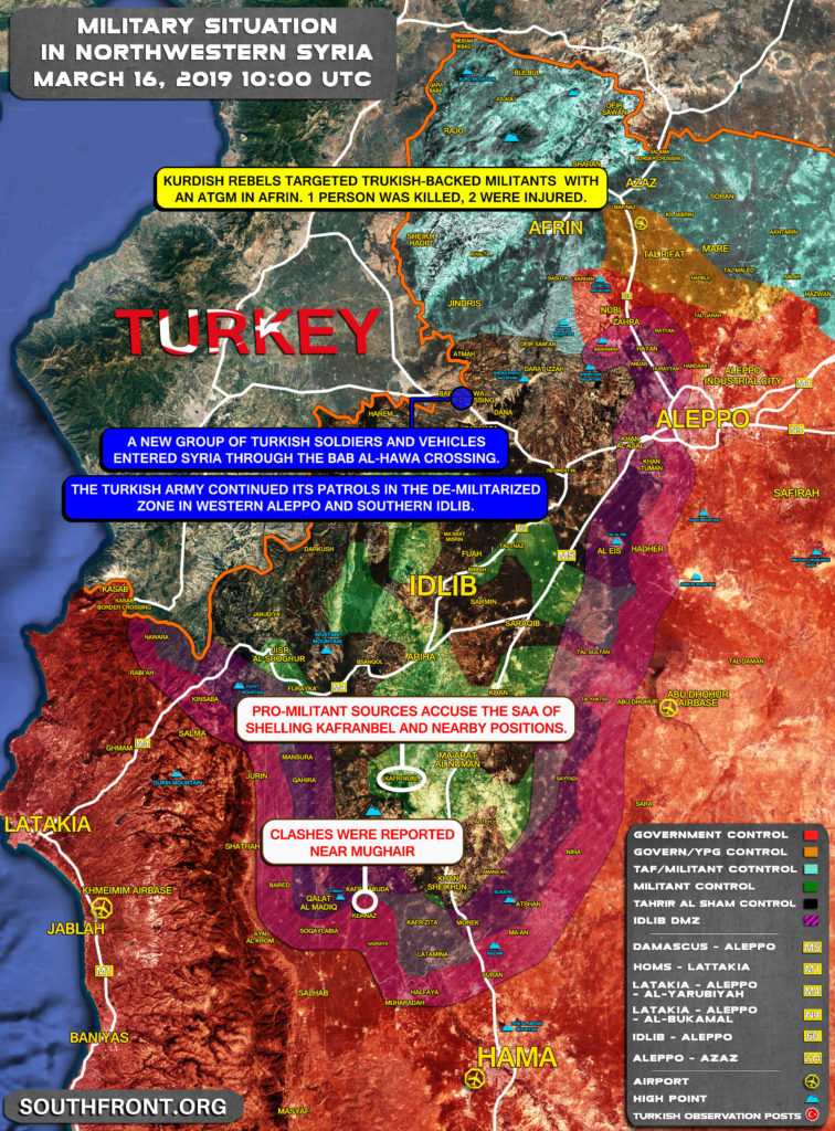 """""""Complicated Process"""": Of Joint Russian-Turkish Patrols Still Not Launched"""
