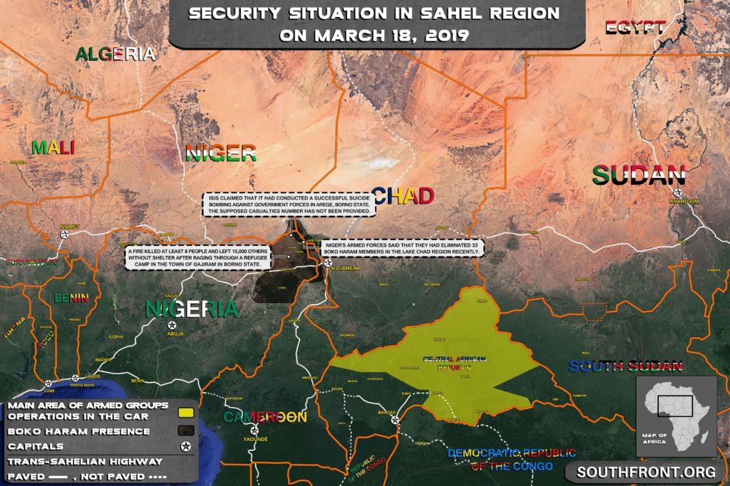 Map Update: Boko Haram & ISIS Continue Attacks Near Lake Chad