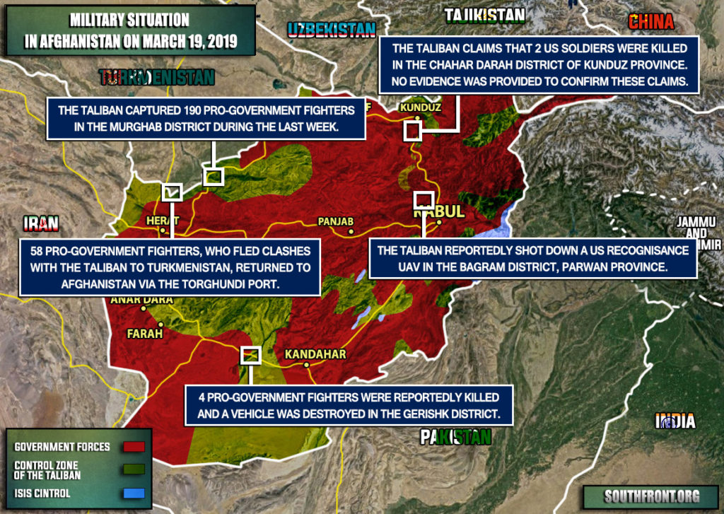 Taliban Captured At Least 190 Afghan Soldiers On Border With Turkmenistan