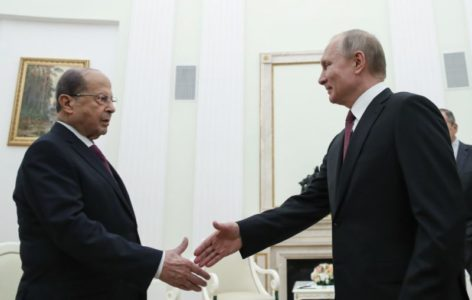 Lebanese President Blames US-Russia Standoff For Middle East Destabilization