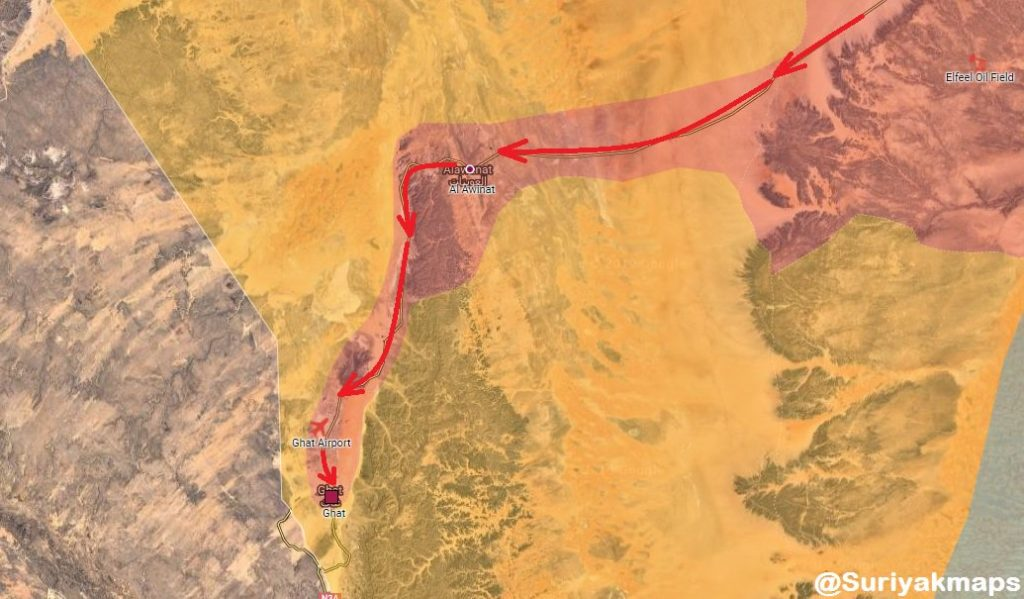 In Maps: Libyan National Army Continues Gaining Ground In Southern Part Of Country