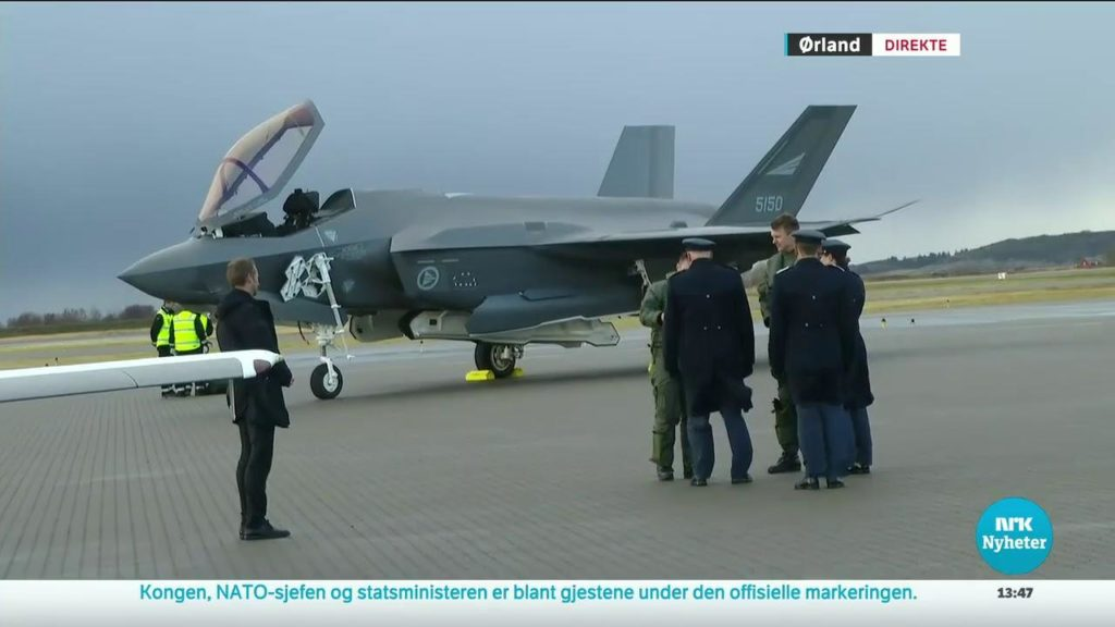 Watch Norwegian F-35 Stealth Jet Test Fire First Air-to-Air Missile