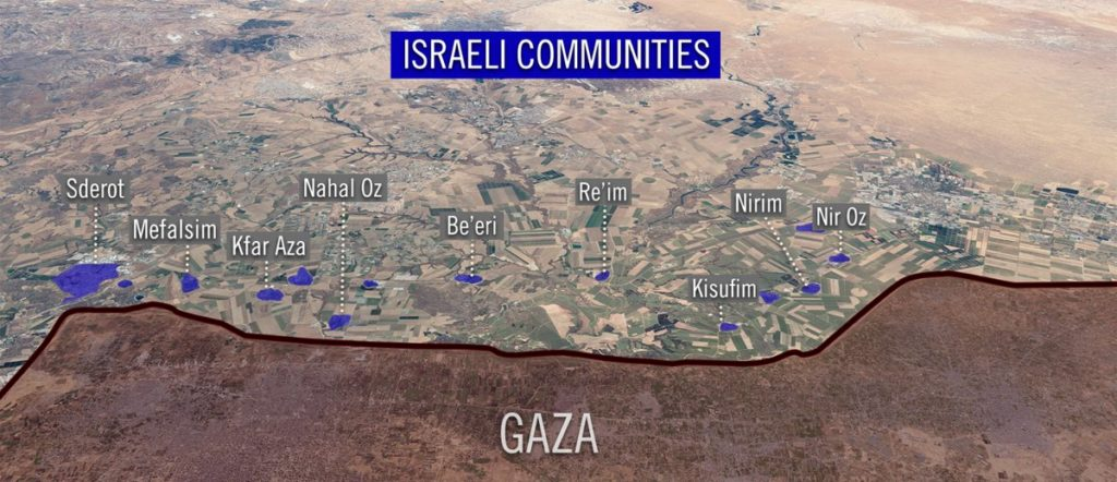 Israel Is Conducting Large Scale Bombing Campaign In Gaza. IDF Claims Multiple Hamas HQs Are Targeted (Video)