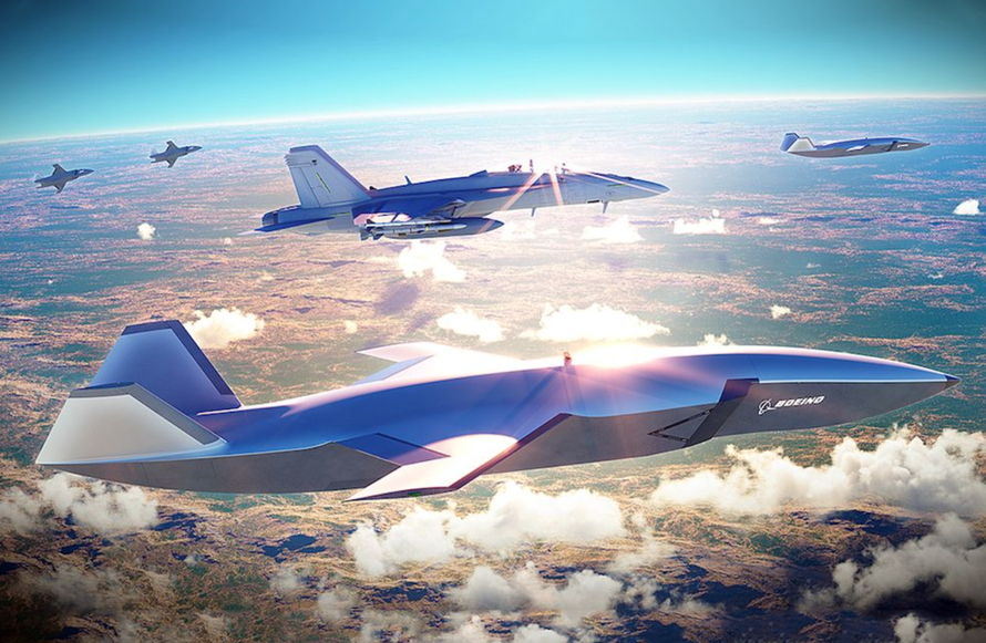 """Boeing Unveils """"Wingman"""" Combat Drone That Supports Stealth Jets"""