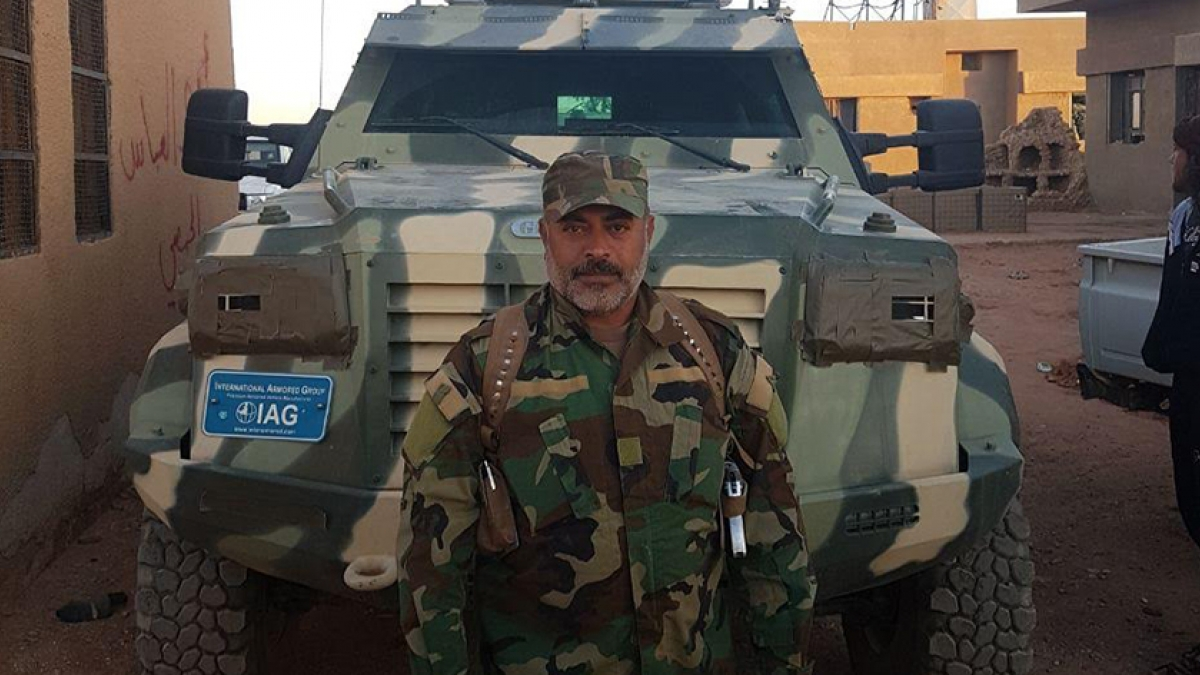 Leader Of US-Backed Forces In Al-Tanaf Injured In ISIS Attack
