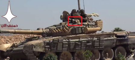 Armoured Beasts: DIY-style Modifications Of Syrian Army Battle Tanks