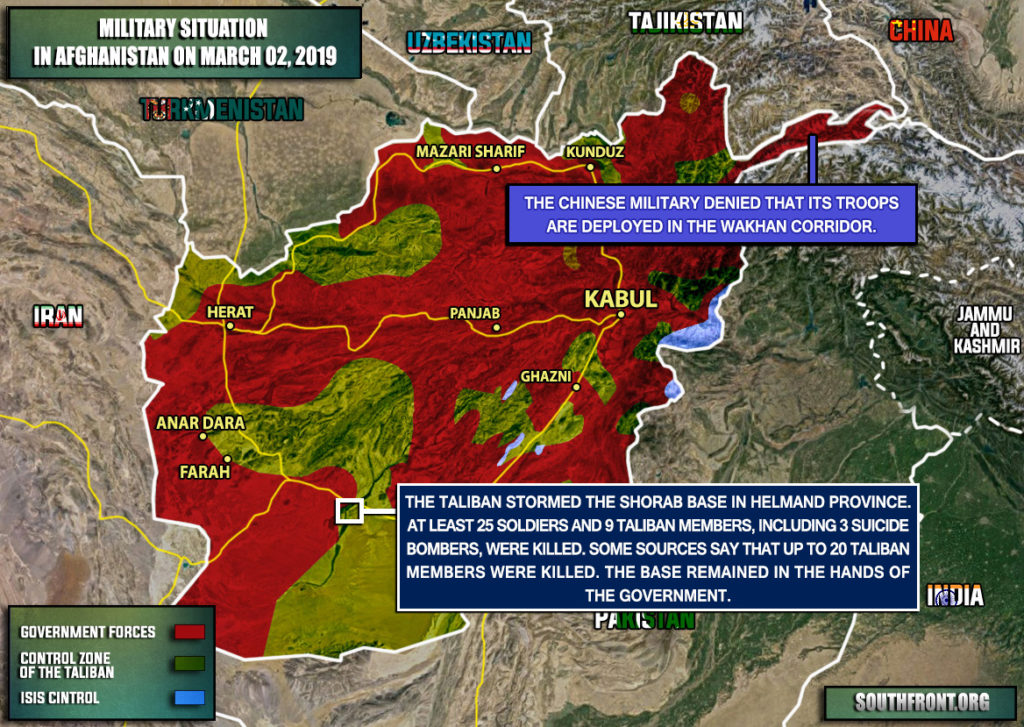 25 Soldiers Were Killed In Taliban Attack On Military Base In Afghanistan (Map Update)