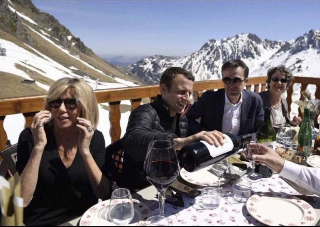 The Day After: Paris Burns As Macron Returns From Mountain Vacation