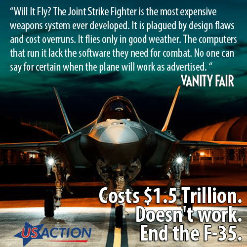 Bombshell Report: Pentagon Mismanaged $2.1 Billion In F-35 Stealth Jet Parts