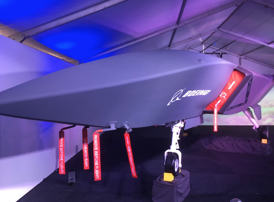 "Boeing Unveils ""Wingman"" Combat Drone That Supports Stealth Jets"