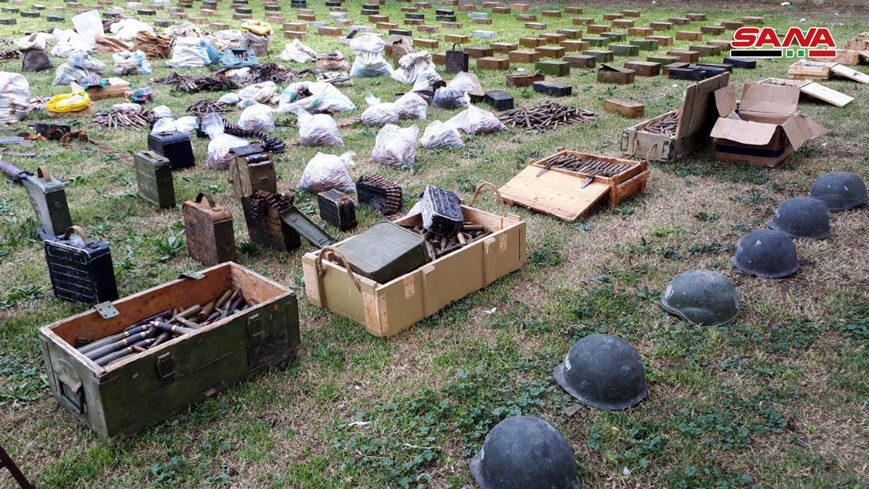 Syrian Army Uncovers Communication Systems, Surveillance Equipment And Weapons In Homs, Damascus And Daraa (Video, Photos)