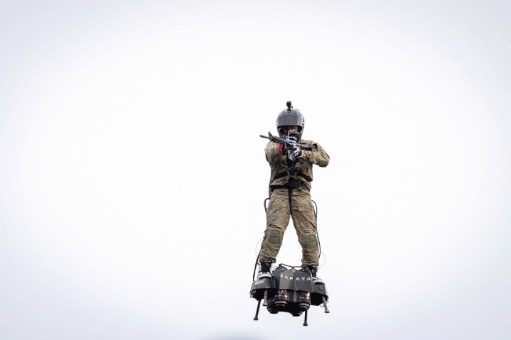 Wearable Flight Systems May Soon Be Used By Special Forces Personnel: Jane's (Photos and Video)