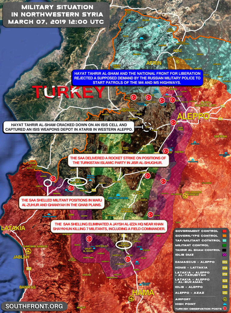 Military Operation In Idlib Demilitarized Zone Is Only Real Measure To Propel Reconciliation Process In Northwestern Syria?