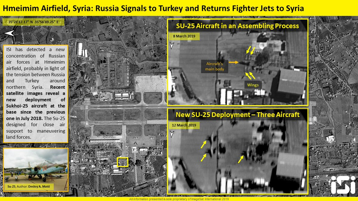 Russia Reinforces Its Air Group In Syria With Su-25 Warplanes