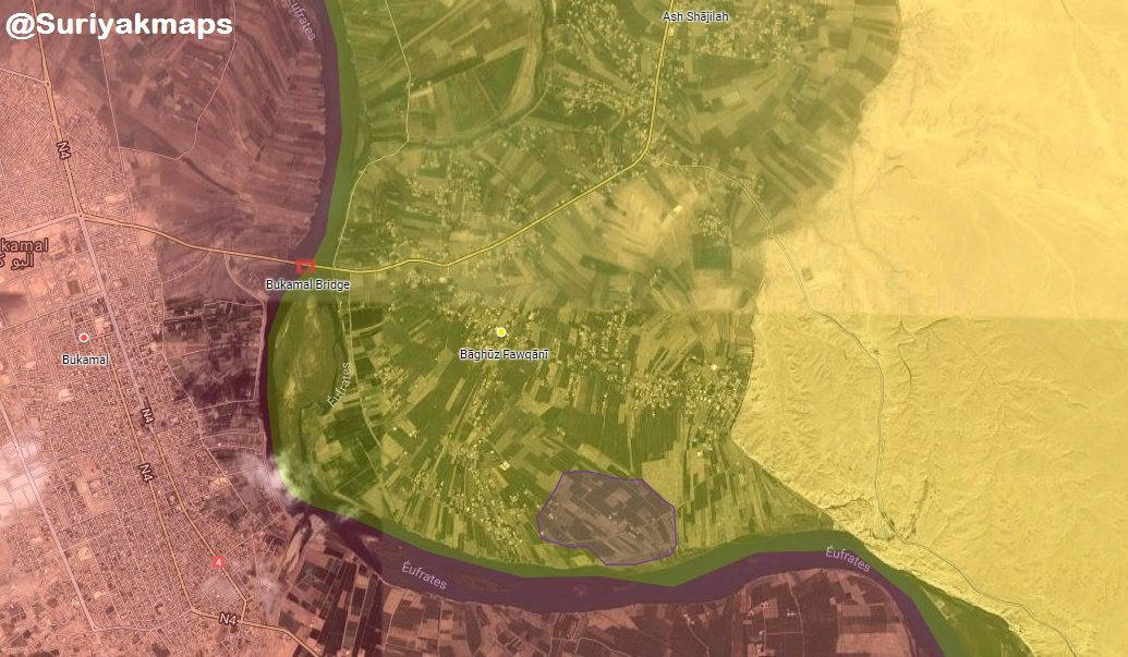 Breaking: Syrian Democratic Force Resume Its Advance On Last ISIS Stronghold In Euphrates Valley