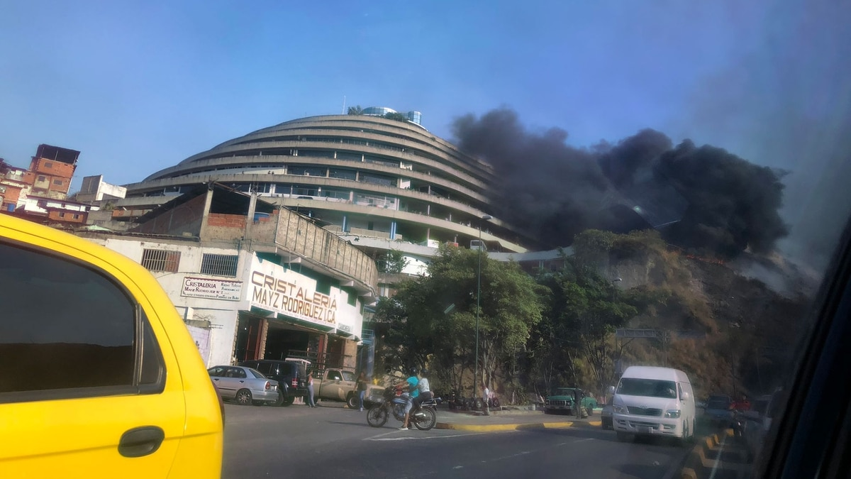 Fire At Security Service HQ Continued Series Of 'Accidents' Targeting Venezuela Infrastructure