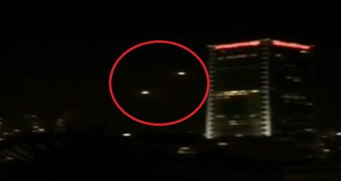 In Videos: Hamas' Military Wing Launched At Least 2 Long-Range Missiles At Tel Aviv