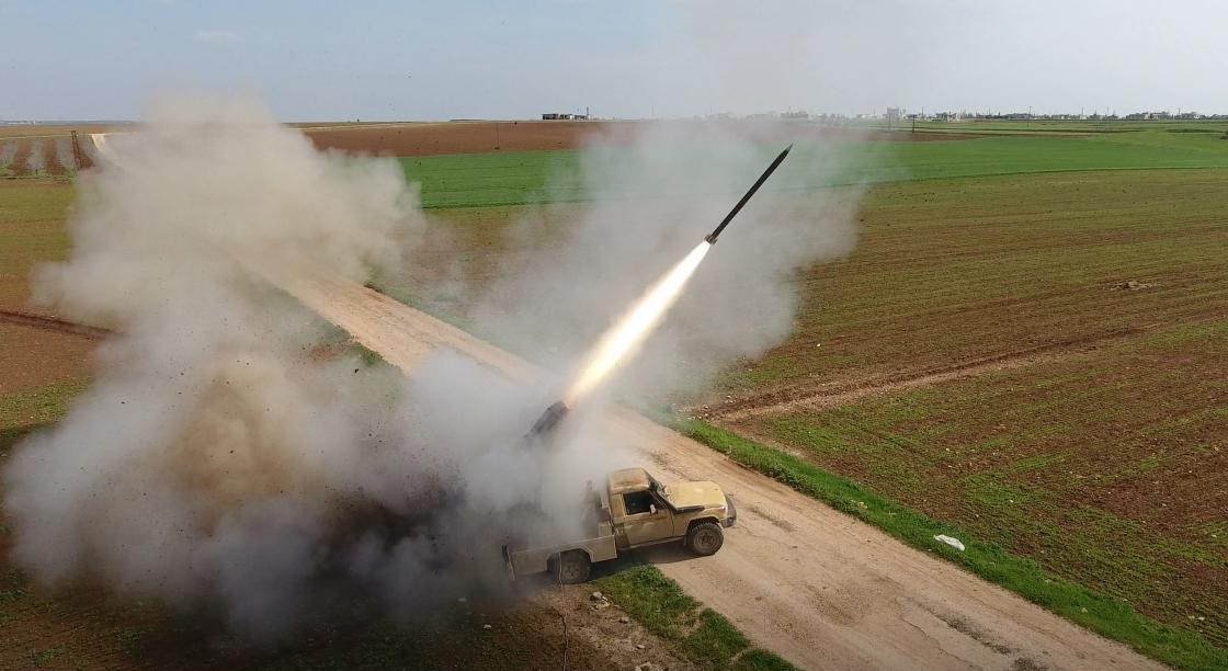 Hay'at Tahrir Al-Sham Launches Dozens Of Rockets At Hmeimim Airbase. Civilian Casualties Reported