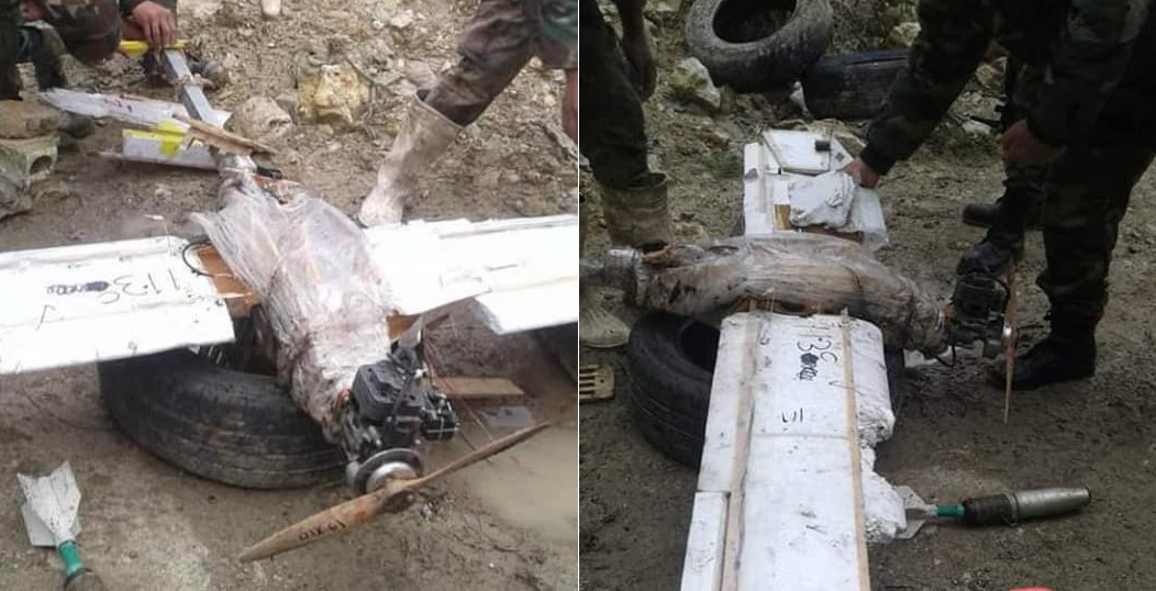 Syrian Army Shoots Down Armed Drone In Northern Lattakia (Photos)