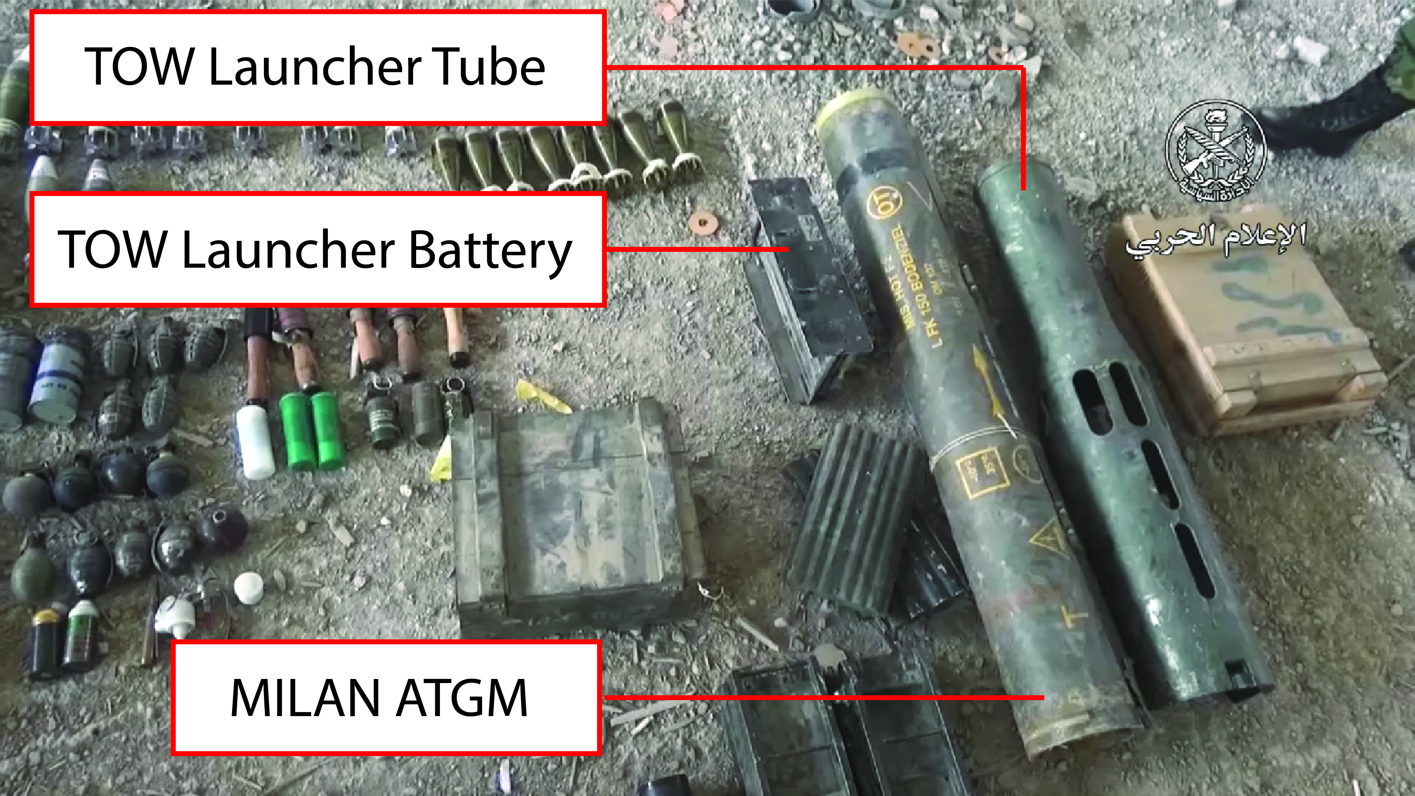 Syrian Army Uncovers Multiple U.S.- And French-made Weapons In Southern Damascus (Video)