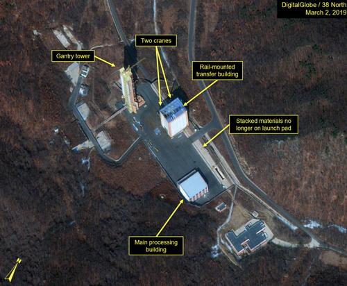 Satellite Images Show North Korea Renewed Construction Of Its Long-Range Missile Facility