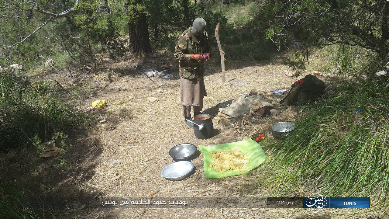 ISIS Releases Rare Photos Of Its Cells In Tunisia