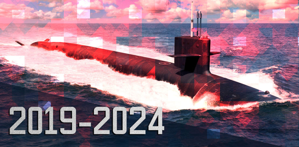 US Navy's Shipbuilding Procurement Plan 2019-2024