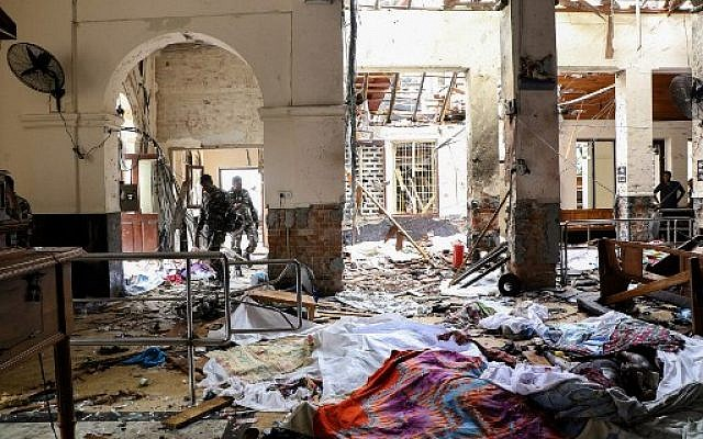 ISIS Claims Responsibility For Sri Lanka Terror Attacks