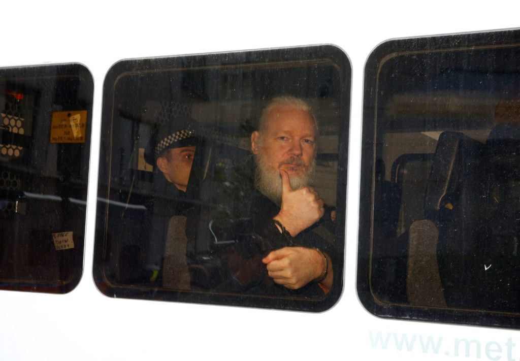 Assange's Second Day at the Old Bailey: Torture, Drone Strikes and Journalism