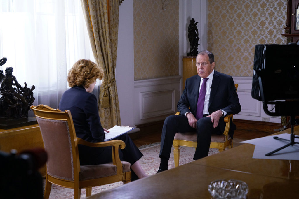 Foreign Minister Sergey Lavrov's Interview For Zvezda Network