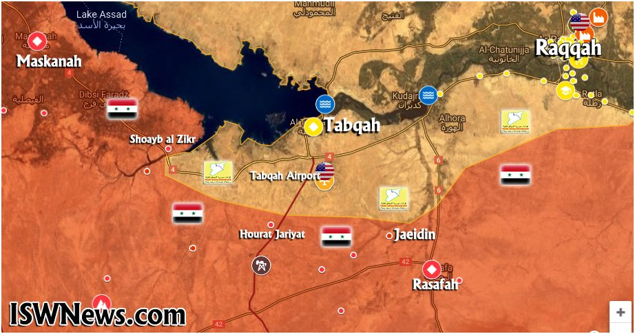 Baseless Speculations Regarding Syrian Army Advance Near Tabqah Appear Online (Map Update)