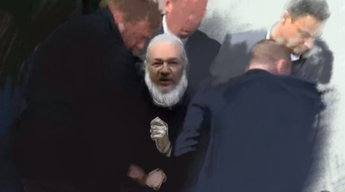 """Caitlin Johnstone: """"Assange Has Been Arrested For US Extradition. The Time To Act Is Now."""""""