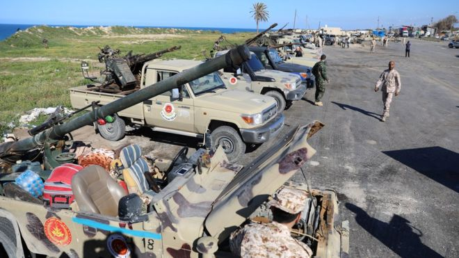 Libyan National Army Advances On Tripoli Despite 'International Community' Calls For 'Peace'