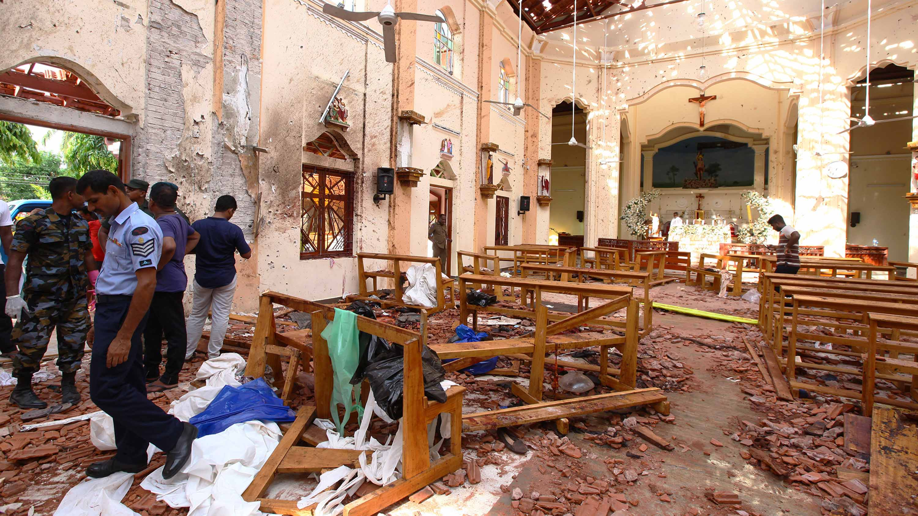 Terror Attacks In Sri Lanka On Easter Sunday Leave At Least 290 Dead, 500 Injured