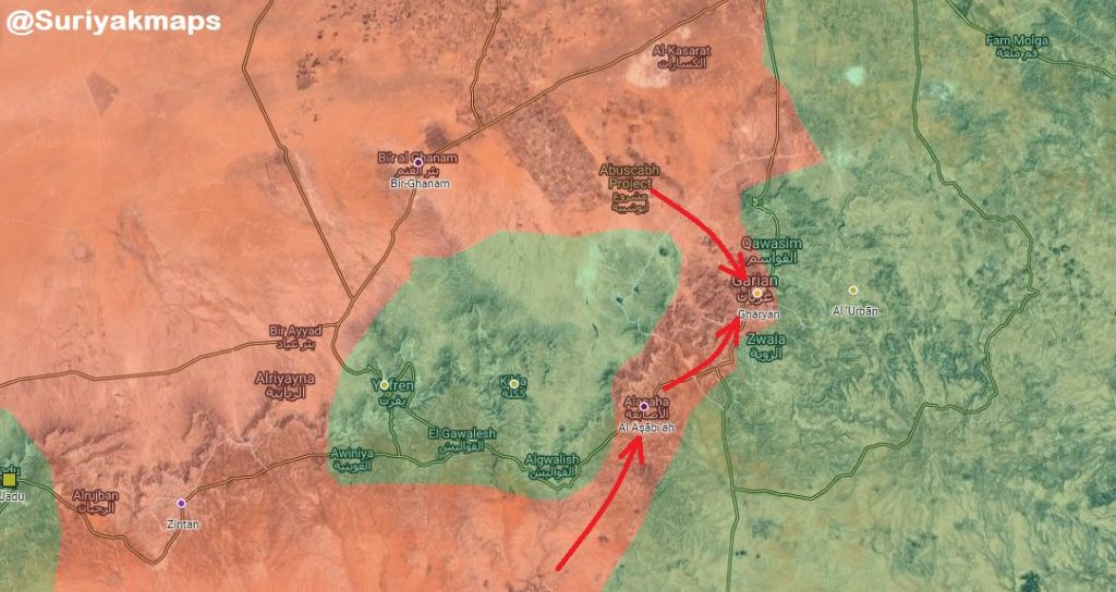 In Maps: Libyan National Army Develops Operation Against Militants Along Borders With Sudan, Chad