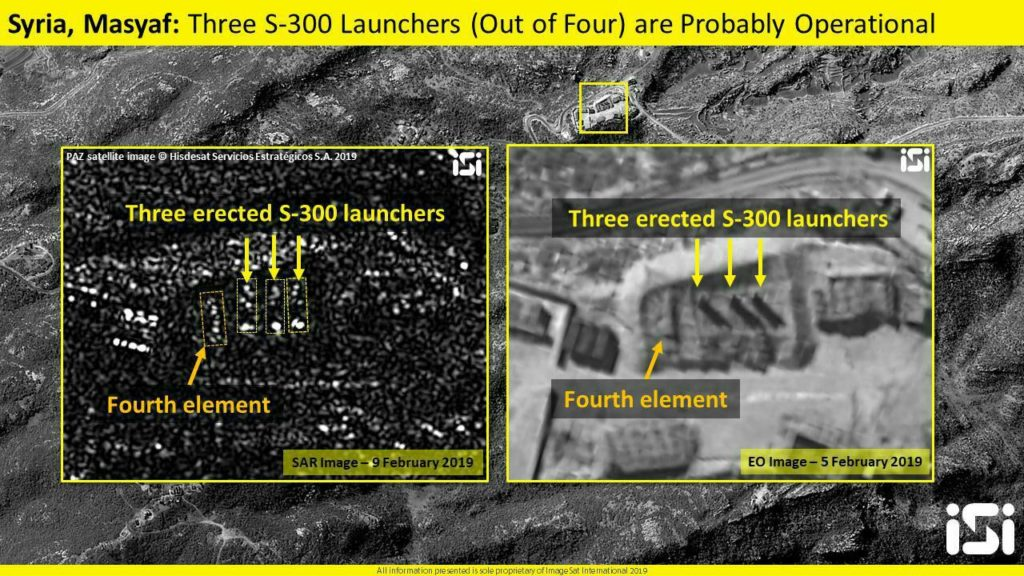 Israeli Jets Struck Syria's Masyaf Area, Near Positions Of Russia-delivered S-300 Launchers