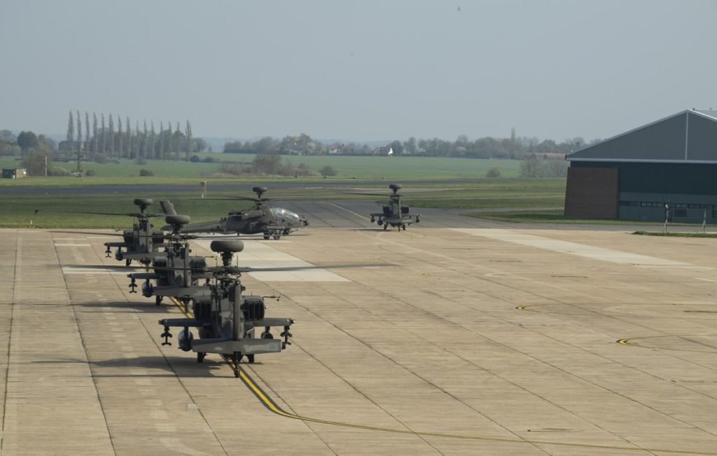 British Military Deployed Attack Helicopters In Estonia (Photos)