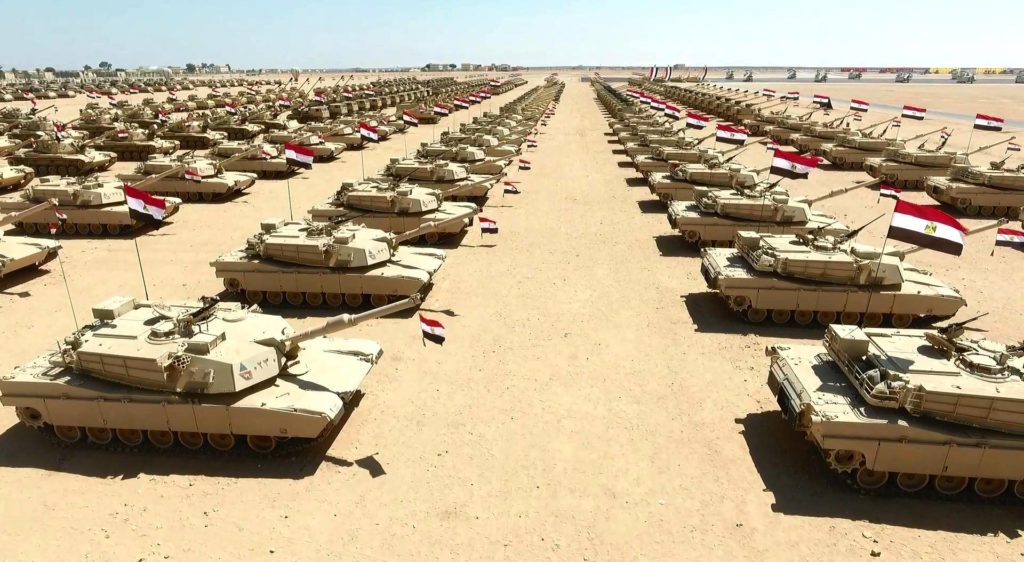 Egyptian President Inspected Country's Biggest Military Base (Video, Photos)