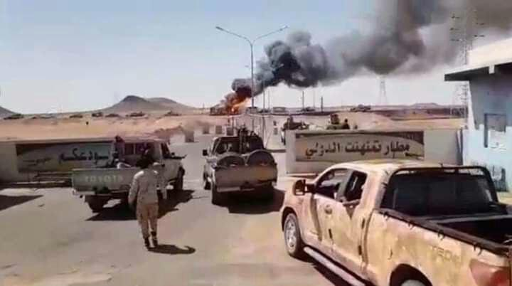 GNA Forces Strike Libyan National Army's Airbase Deep Behind Tripoli Frontline