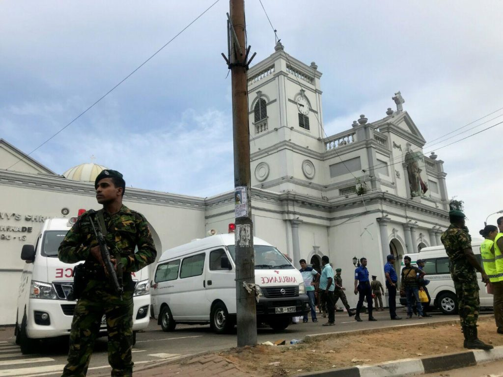 Hundreds Killed And Injured In Series Of Terrorist Attacks At Sri Lankan Hotels And Churches On Easter Sunday