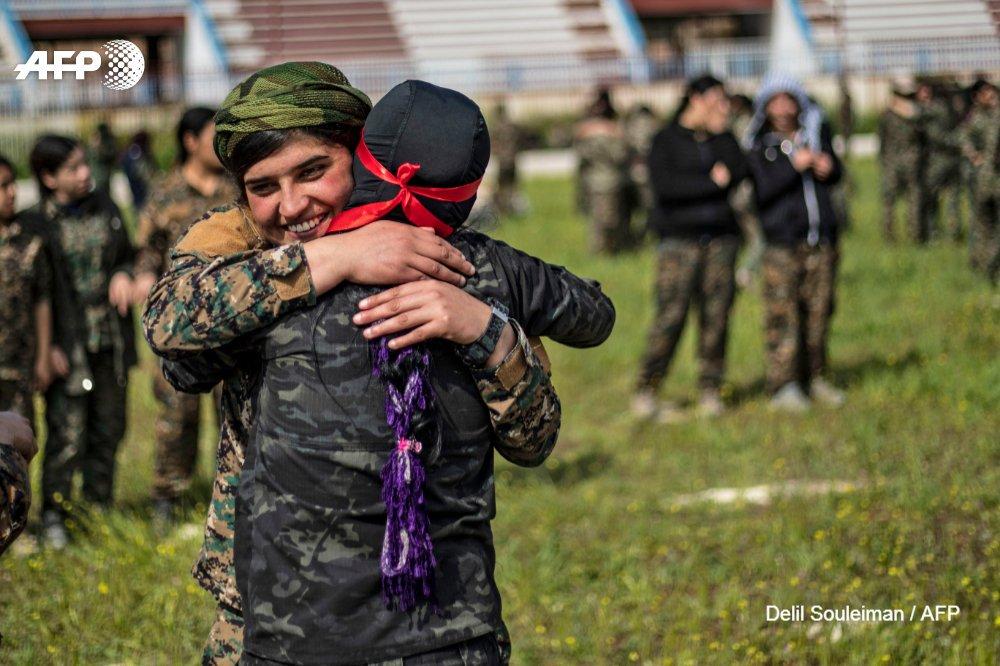Videos, Photos: Kurdish Militas Hold Military Parade In Syria's Qamishli