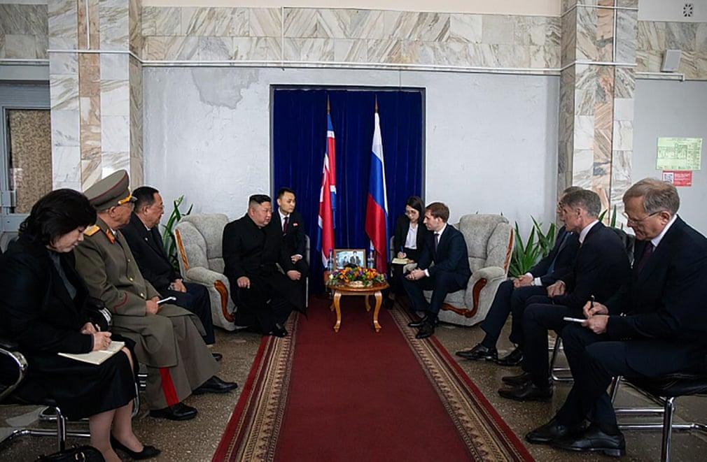Kim Jong Un Arrived In Vladivostok For His First Meeting With Vladimir Putin