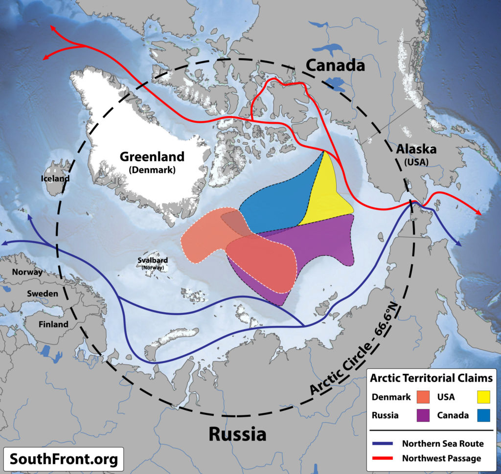 US Coast Guard Vows To Challenge China, Russia In Arctic