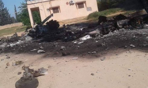 Pro-GNA Forces Shot Down MiG-21 Of Libyan National Army Near Tripoli (Photos, Video, Map)