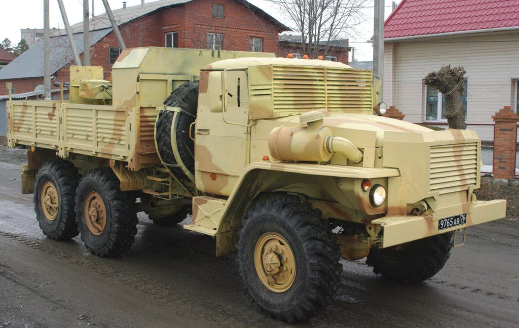 DIY-style Gun Trucks Spotted In Russia's Yekaterinburg (Photos)