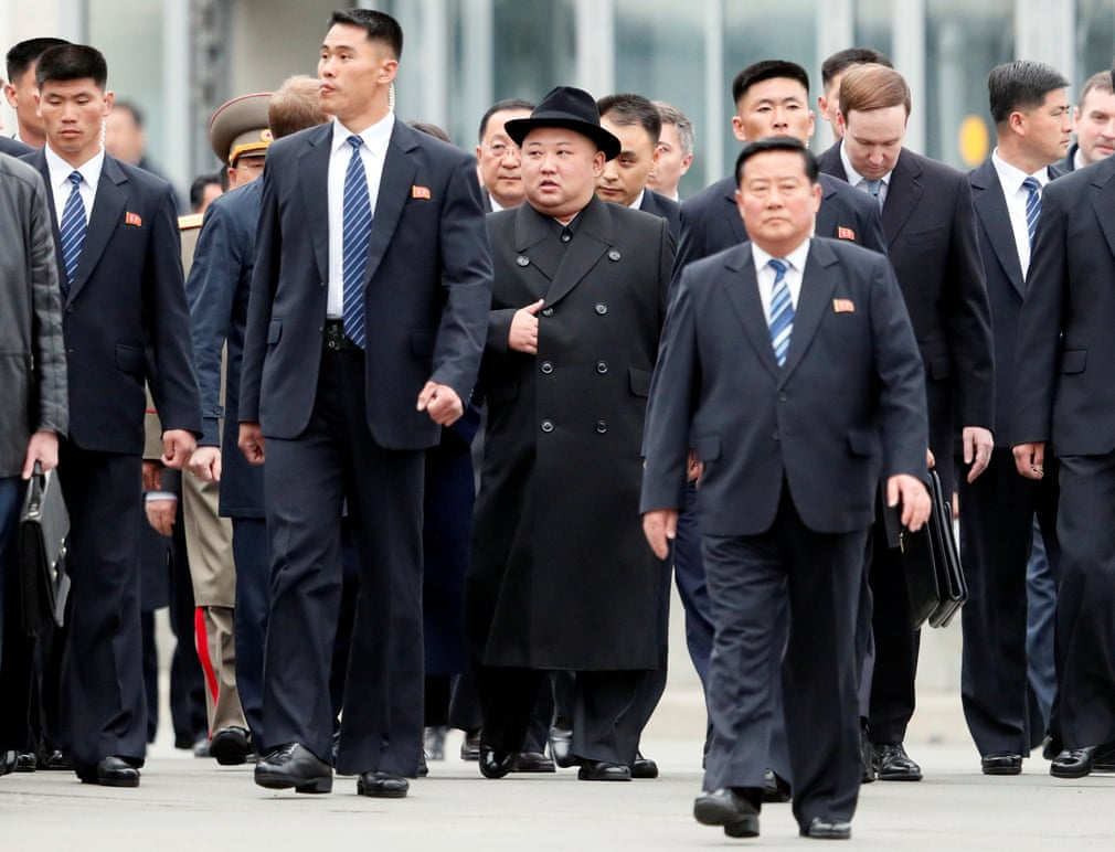 Kim Jong Un Arrived In Vladivostok For His First Meeting With Vladimir Putin